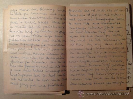 Militaria: 69 cartas. Correspondencia entre un soldado alemán y su mujer enviadas desde el frente ruso. 1941-45 - Foto 3 - 34281597