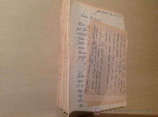 Militaria: 69 cartas. Correspondencia entre un soldado alemán y su mujer enviadas desde el frente ruso. 1941-45 - Foto 4 - 34281597