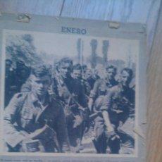 Militaria: 1943, CALENDARIO PRO ALEMAN 1943. FOTOS Y COMENTARIOS EN ESPAÑOL. Lote 34703647