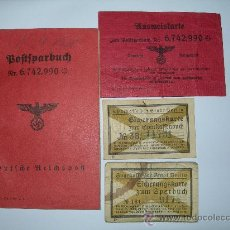 Militaria: LOTE POSTSPARBUCH III REICH. Lote 36161891