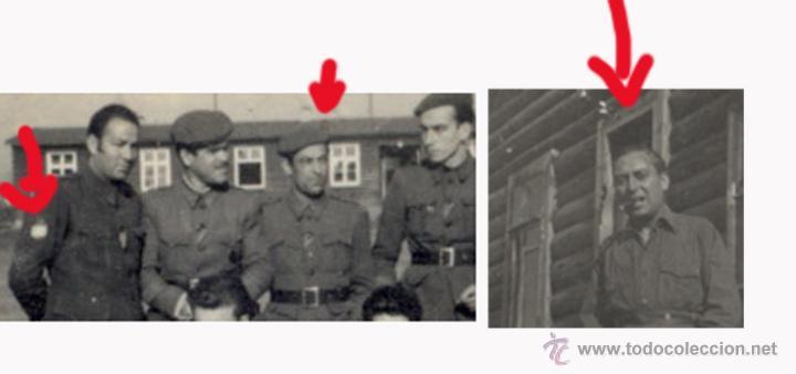 Militaria: Division azul. antigua fotografia original. tamaño 8.3 x 6 cm - Foto 2 - 43721222