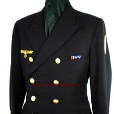 Militaria: GUERRERA-UNIFORME DE OBERLEUTNANT DE LA KRIEGSMARINE CON PLACA DEL NARVIK. Lote 45024453