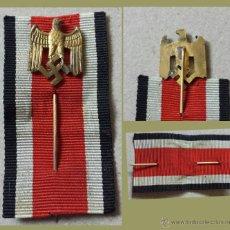 Militaria: MEDALLA DISTINTIVO DEL PARTIDO NAZI NSDAP TOTALMENTE ORIGINAL - DE SOLAPA. Lote 45561315