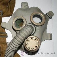 Militaria: MÁSCARA DE GAS EJÉRCITO RUSA PREVENTIVA ATAQUE GAS II GUERRA MUNDIAL + MOCHILA. Lote 66529877