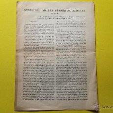 Militaria: ORDEN DEL DIA DEL FUHRER AL EJERCITO 31/12/1941. Lote 50998620
