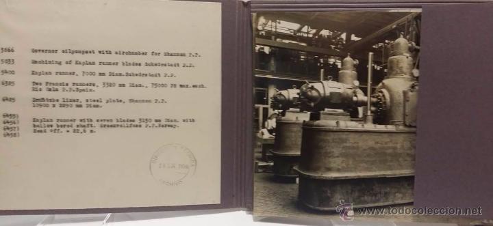 Militaria: ANTIGUO CATALOGO J.M.VOITH MACHINEFABRIK CON FOTOGRAFIAS ORIGINALES -PRE SEGUNDA GUERRA MUNDIAL 1934 - Foto 3 - 51052849