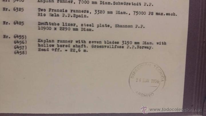 Militaria: ANTIGUO CATALOGO J.M.VOITH MACHINEFABRIK CON FOTOGRAFIAS ORIGINALES -PRE SEGUNDA GUERRA MUNDIAL 1934 - Foto 7 - 51052849