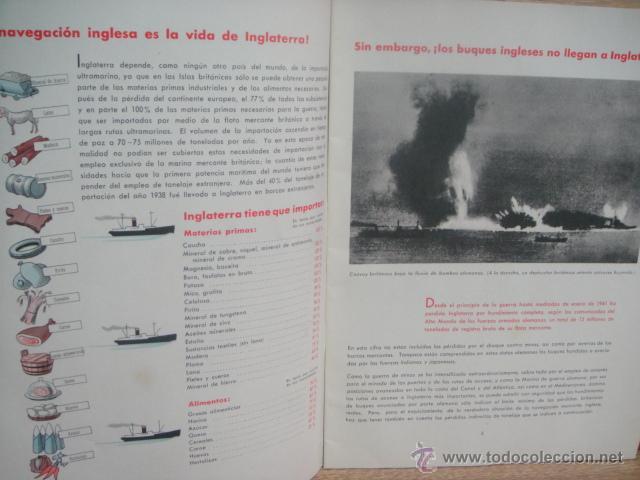 Militaria: el almirantazgo lamenta tener que comunicar... - 2ª guerra mundial año 1942 - Foto 3 - 51623697