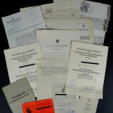 Militaria: CONJUNTO DE 21 DOCUMENTOS DE UN SOLDADO DE LA DIVISION AZUL, REGT. VIERNA 263. Lote 51979159