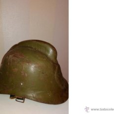 Militaria: CASCO DE BOMBERO SOVIÉTICO (RUSO), URSS. Lote 53079762