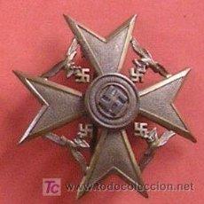 Militaria: CRUZ DE ESPAÑA EN BRONCE SIN ESPADAS.. Lote 13790223