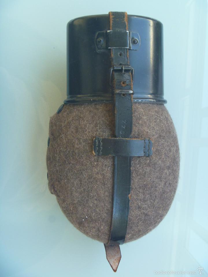 2ª GUERRA MUNDIAL : CANTIMPLORA ORIGINAL DEL EJERCITO DE ALEMANIA , FECHADA 1944 (Militar - II Guerra Mundial)