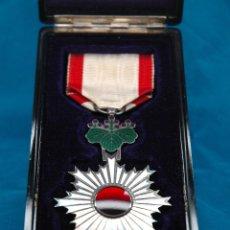 Militaria: ORDEN DEL SOL NACIENTE 6ª CLASE & ESTUCHE EMISIÓN - EJÉRCITO IMPERIAL DEL JAPÓN - II GUERRA MUNDIAL. Lote 57503453