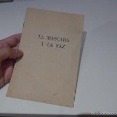 Militaria: ANTIGUO LIBRITO LA MASCARA Y LA FAZ, DE NAZISMO.. Lote 57981944