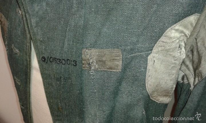 Militaria: FELDBLUSE ALEMANA EN DRILL - ORIGINAL, A RESTAURAR. - Foto 9 - 60998675