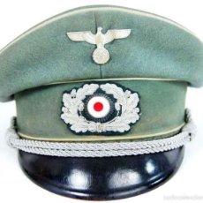 Militaria: GORRA M34 DE OFICIAL DE INFANTERÍA DE LA WEHRMACHT. Lote 61311823