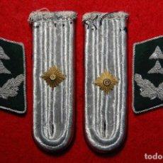 Militaria: DISTINTIVOS DE CUELLO Y HOMBRO DE OFICIAL ADMINISTRATIVO ALEMAN.SEGUNDA GUERRA MUNDIAL.. Lote 73682759