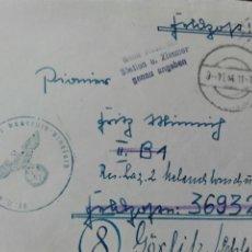 Militaria: FELDPOST CORREO MILITAR AÑO 1944. Lote 78386721