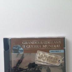 Militaria: LA GUERRA RELAMPAGO - II GUERRA MUNDIAL - GRANDES BATALLAS CD-ROM. Lote 79499937
