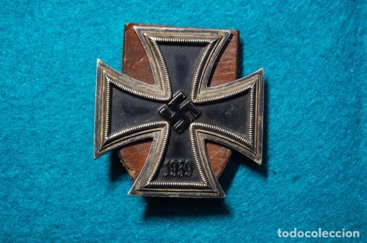 ESPECTACULAR CRUZ DE HIERRO DE 1ª CLASE ALEMANA.SEGUNDA GUERRA MUNDIAL. (Militar - II Guerra Mundial)