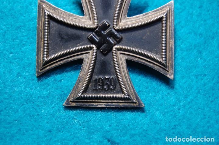 Militaria: ESPECTACULAR CRUZ DE HIERRO DE 1ª CLASE ALEMANA.SEGUNDA GUERRA MUNDIAL. - Foto 7 - 79643569