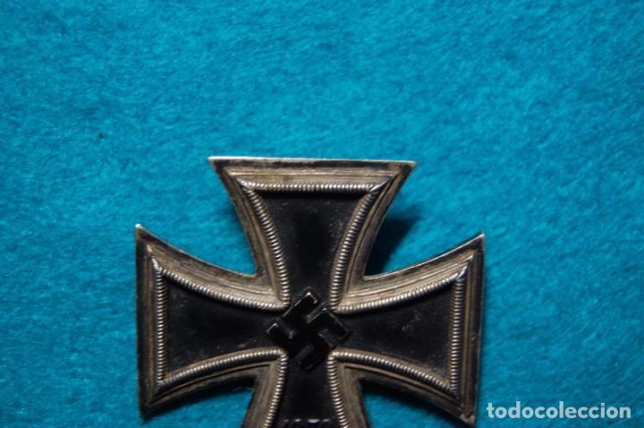 Militaria: ESPECTACULAR CRUZ DE HIERRO DE 1ª CLASE ALEMANA.SEGUNDA GUERRA MUNDIAL. - Foto 8 - 79643569