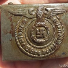 Militaria: HEBILLA WAFFEN SS. Lote 98704782