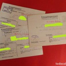 Militaria: CORRESPONDENCIA PRISIONERO DE GUERRA FRANCÉS, EN UN CAMPO DE PRISIONEROS ALEMÁN STALAG VIII A. IIWW. Lote 264114685
