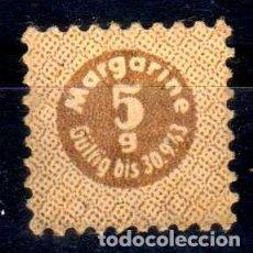 Militaria: CUPON RACIONAMIENTO ALEMÁN 5 GRAMOS MARGARINA 1943. Lote 85240112