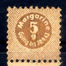 Militaria: CUPON RACIONAMIENTO ALEMÁN 5 GRAMOS MARGARINA 1943. Lote 85240160