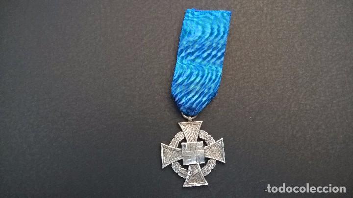 MEDALLA CRUZ ALEMANA -25 AÑOS DE SERVICIO (Militar - II Guerra Mundial)