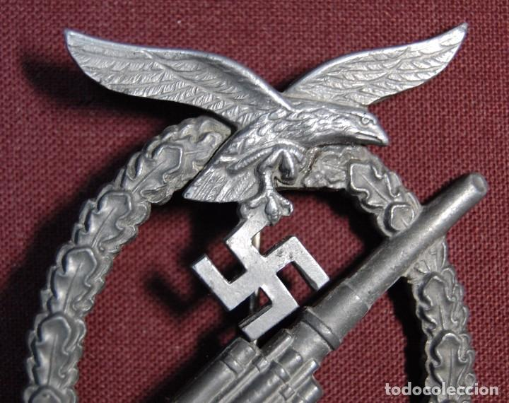 Militaria: PRECIOSA INSIGNIA ALEMANA DE LA ARTILLERIA ANTIAEREA.SEGUNDA GUERRA MUNDIAL. - Foto 3 - 94580903