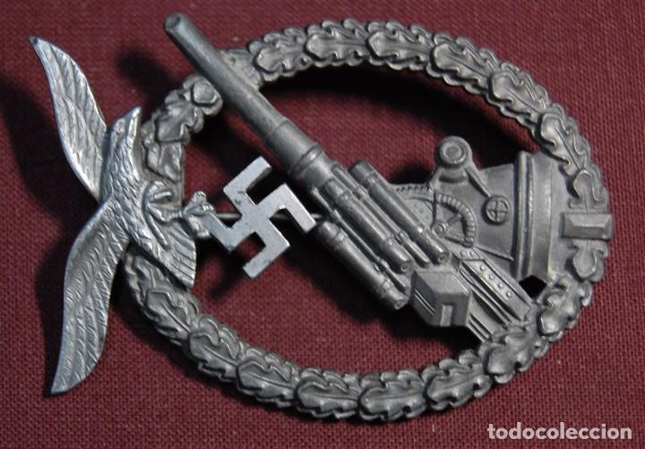 Militaria: PRECIOSA INSIGNIA ALEMANA DE LA ARTILLERIA ANTIAEREA.SEGUNDA GUERRA MUNDIAL. - Foto 5 - 94580903