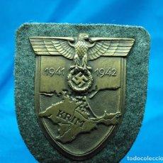 Militaria: ESCUDO DE CRIMEA - KRIMSCHILD - SEGUNDA GUERRA MUNDIAL - ALEMANIA III REICH. Lote 95315447