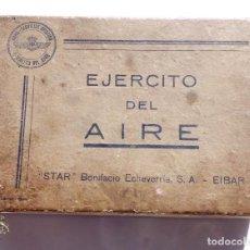 Militaria: CAJA DE ARMA REGLAMENTARÍA MIEMBRO DE LA ESCUADRILLA AZUL - EJERCITO DEL AIRE - STAR MODELO S 1941. Lote 95399127