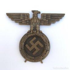 Militaria: ÁGUILA NAZI DE BRONCE. TERCER REICH. SEGUNDA GUERRA MUNDIAL. ORIGINAL.. Lote 191937346
