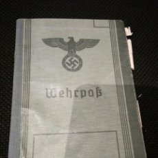 Militaria: WEHRPAS. ALEMANIA NAZI. ORIGINAL. Lote 95850906