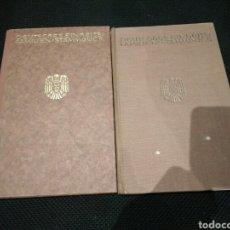 Militaria: LOTE 2 LIBROS DE FAMILIA. DOCUMENTOS DEL III REICH. Lote 95851279