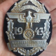 Militaria: DIVISA NAZI TERCER REICH NSKK, NSDAP SUPER RARO. Lote 96187887