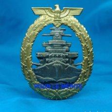 Militaria: DISTINTIVO DE LA FLOTA DE ALTA MAR - MARCAJE SCHWERIN - KRIEGSMARINE - ALEMANIA III REICH. Lote 96878135