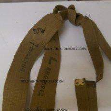 Militaria: TIRANTES O TRINCHAS TOMMY INGLESES 1942 SEGUNDA GUERRA MUNDIAL ORIGINALES WW2. Lote 101183351
