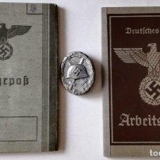 Militaria: LOTE CABO JOHANN BARNICKEL. COBURG. MUERTO EN RUSIA 1942. ALEMANIA. II GUERRA MUNDIAL. 1939-1945. Lote 104495187