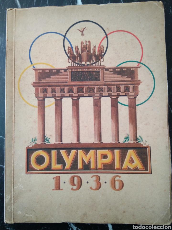 Album de cromos Vacio Olympia 1936 segunda mano