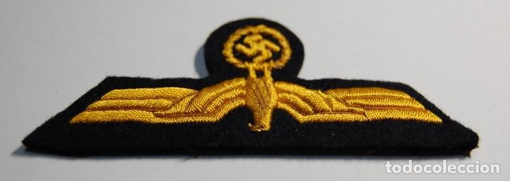 Militaria: DISTINTIVO PECHO de TRAJE de GALA de OFICIAL JEFE.KRIEGSMARINE del TERCER REICH..2ª GUERRA MUNDIAL. - Foto 3 - 106187355