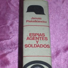 Militaria: ESPÍAS, AGENTES Y SOLDADOS GUERRA MUNDIAL BRUGUERA. Lote 109267315