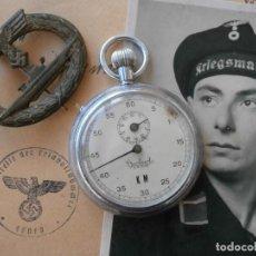 Militaria: ANTIGUO CRONOMETRO MILITAR ALEMÁN II SEGUNDA GUERRA MUNDIAL III REICH USADO POR LA KRIEGSMARINE. Lote 112084043