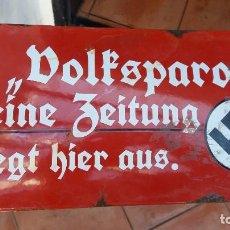 Militaria: GRANDE DIVISA TERCER REICH , WEHRMACHT , ADOLF HITLER , NSDAP, MUY RARO. Lote 112436091