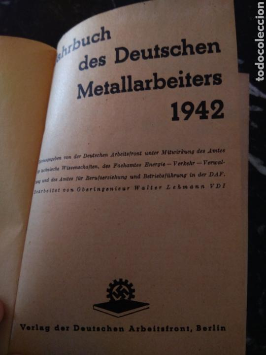 Militaria: Calendario 1942 D.A.F - Foto 5 - 113555772
