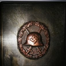 Militaria - PITILLERA NAZI CON MARCAS , INSIGNIA DE HERIDO. - 114931467