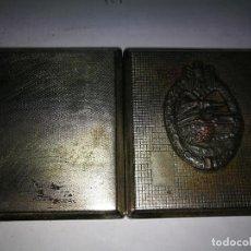 Militaria - PITILLERA NAZI CON INSIGNIA Panzerkampfabzeichen Y MARCAS - 115000283